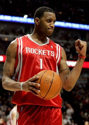 NBA Roundup: McGrady, Rockets Stomp The Yard
