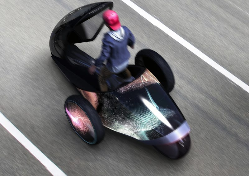 You Drive This Crazy Toyota Concept Vehicle With Your Whole Body