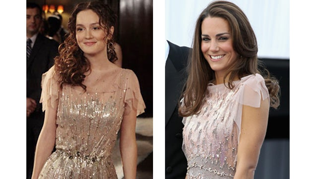 Who Wore It Best: Kate Middleton/Blair Waldorf Edition