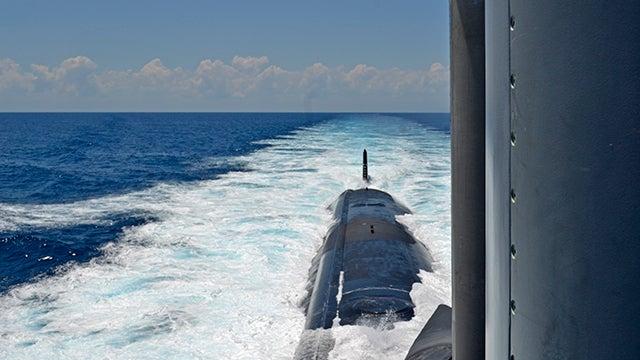 Inside the Navy's Newest Spy Sub