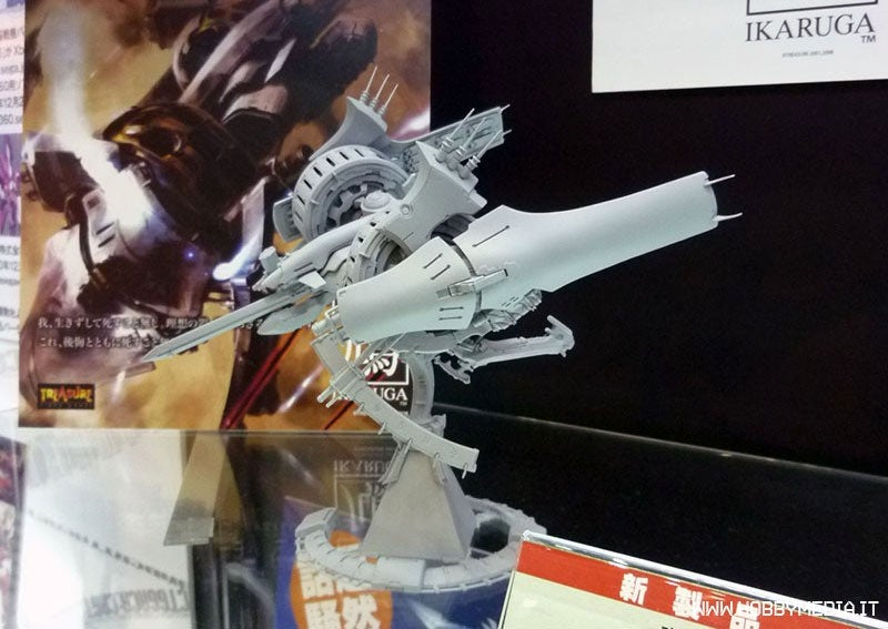 An Ikaruga Model Kit? Oh My...
