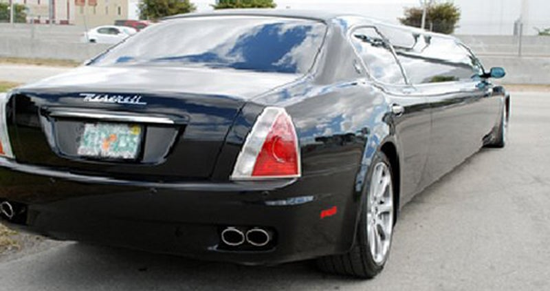 Maserati Quatroporte Limo Is Quite A Stretch