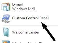 Create a Custom Control Panel