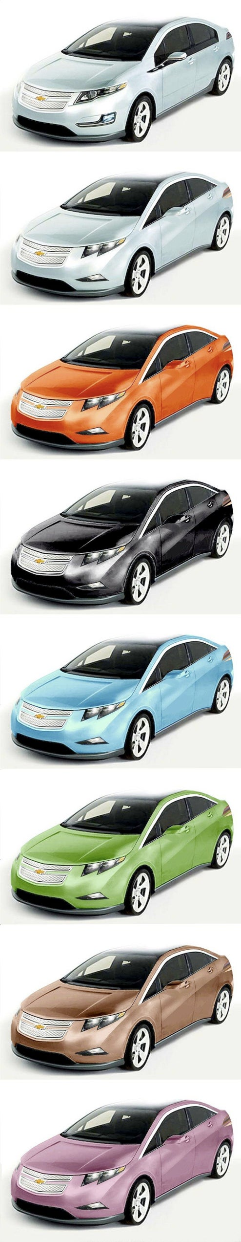 Chevy Volt: Taste The Rainbow