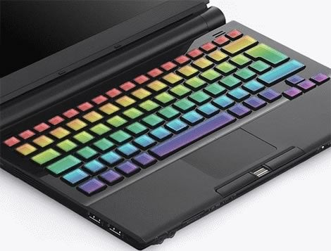 Concept Optimus Maximus Laptop Has an OLED Keyboard Built In