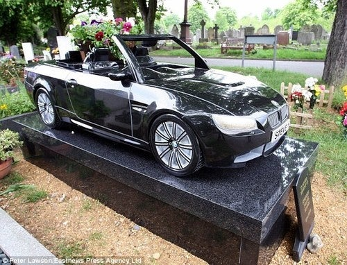 Car Enthusiast Buried Under BMW Tombstone