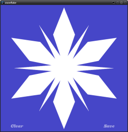 Snowflake App Designs and Prints Your Flake to PDF