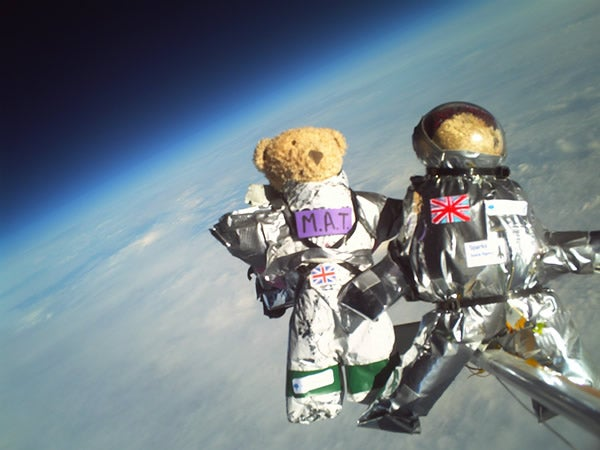 Teddies Boldly Go Where No Bear Has Gone Before