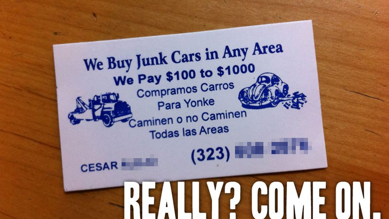 An Open Letter To Cesar, Who Thinks My Truck Is Junk
