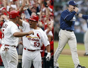 Live Playoff Blog: Padres Vs. Cardinals, Game 1