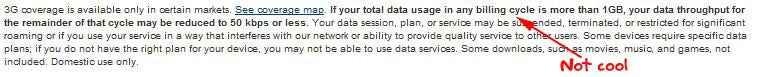T-Mobile Restricting 3G Data Usage to 1GB a Month Without Penalty