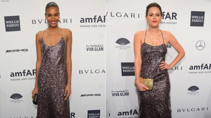 Conceptual Wizard Sleeves and Ugly Patterns at the amfAR New York Gala