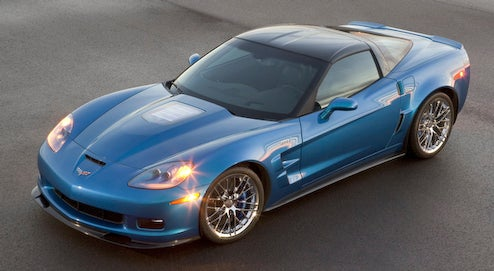 2009 Corvette ZR1 pricing released: 638 HP For $103,300!