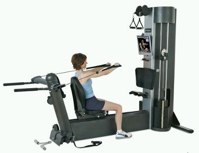 Web-based Exercise Machine Keeps You from Looking Like a Spaz