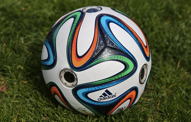 A Camera-Filled Soccer Ball Gives Fans a Dizzying View Of the Game