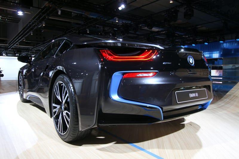 The BMW i8 Hybrid Sports Car Will Cost $135,925
