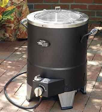 Turkey Fryer Uses No Oil, But It Uses No Oil