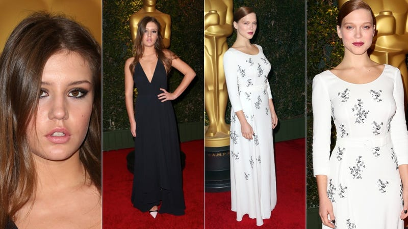 Purple Lipstick and Glorious Gowns at the Governors Awards