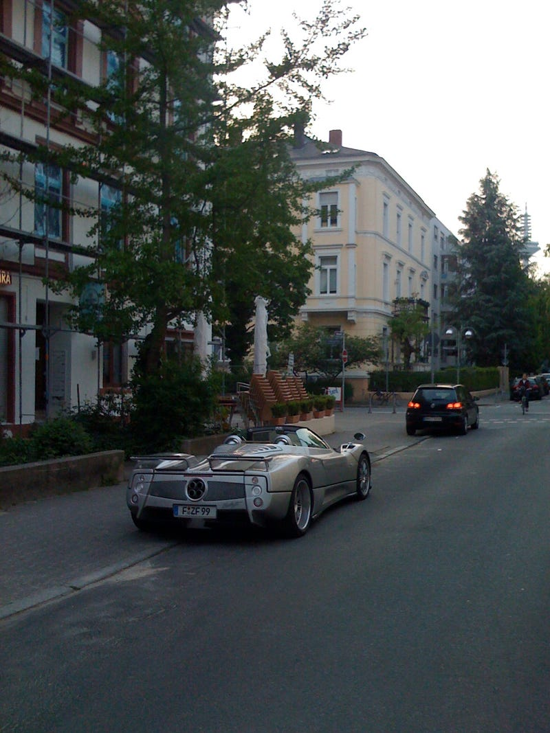 Ho Hum, Just Another Pagani Zonda Parked On The Frankfurt Street