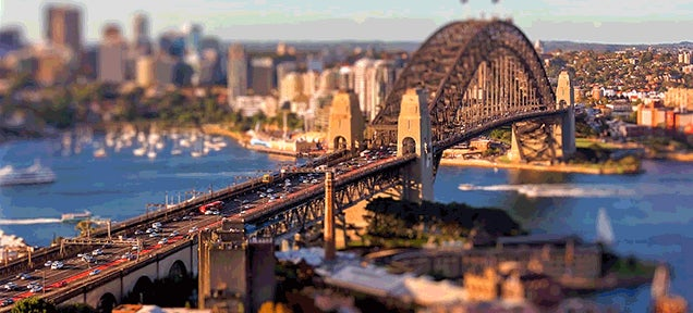 Sydney looks like the perfect city in this beautiful miniature video