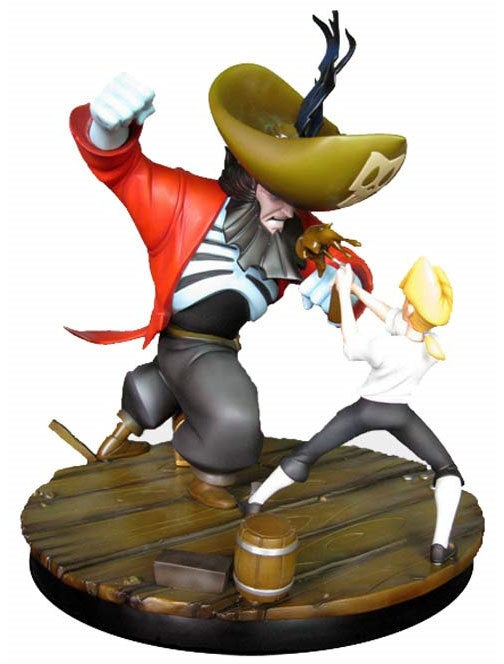 No One Will Forget This LeChuck vs Threepwood Statue