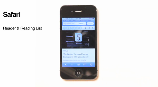 A Complete Video Guide to iOS 5