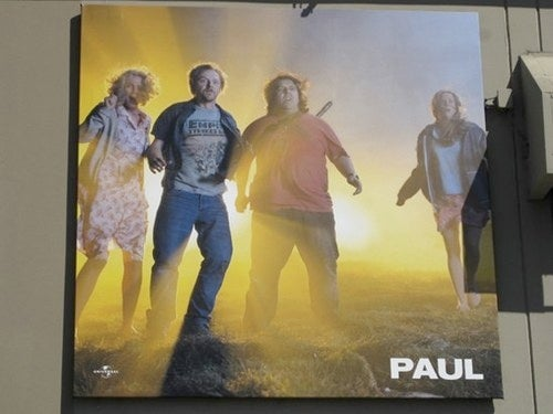 """First Look At Pegg's Alien Epic """"Paul"""""""