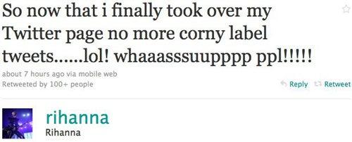 Rihanna Finally Regains Control Of Her Twitter Account