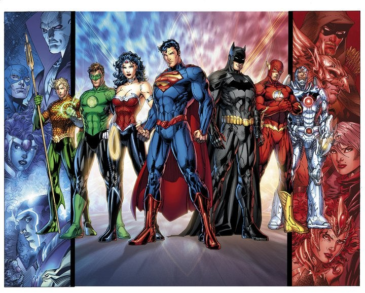 Is this the roster for DC's new Justice League?