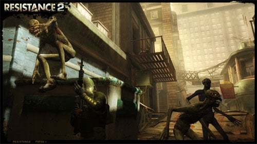 Ted Price Talks Resistance 2, We Go Hands on With Multiplayer