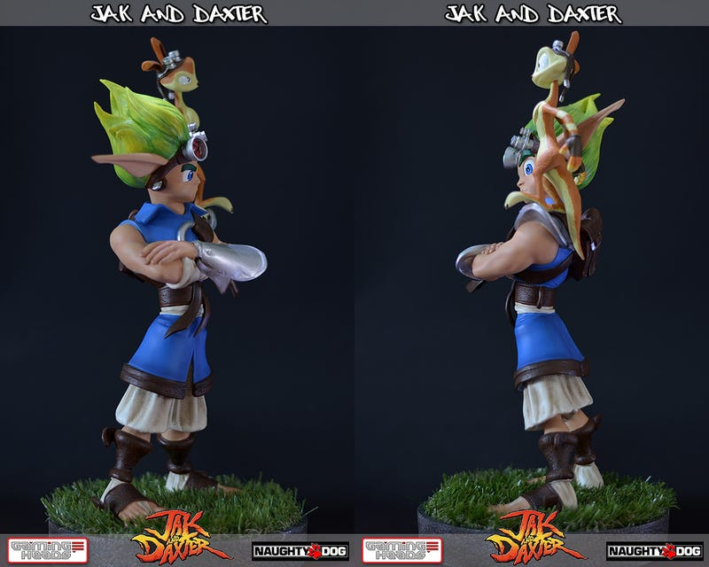 Sadly, Jak's Plastic Counterpart Is As Quiet as the Real Thing
