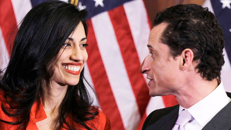 Weiner's Wife Is Taking a Break