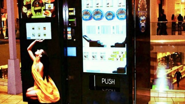 Caviar Vending Machines Are Perfect for the Tycoon on the Go