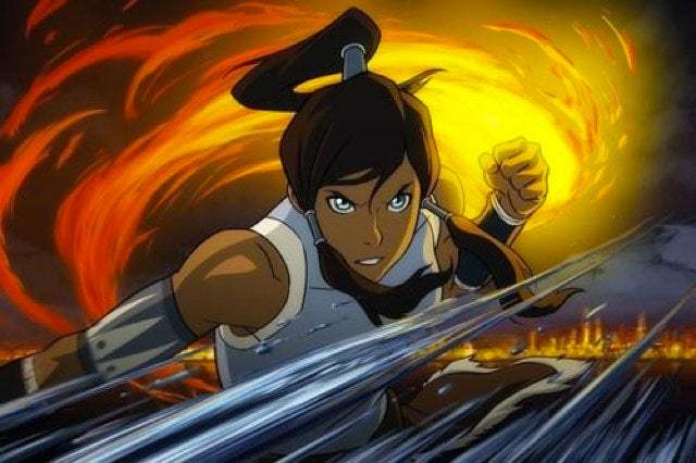 First look at the new Airbender hero, Korra of the Southern Water Tribe