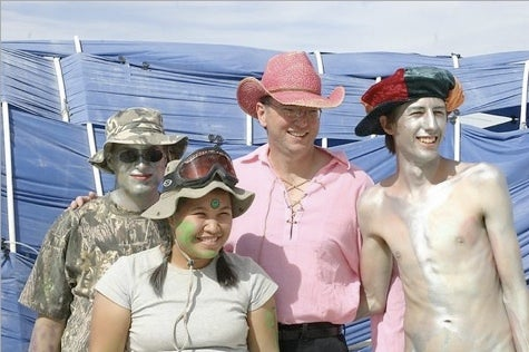 Eric Schmidt at Burning Man