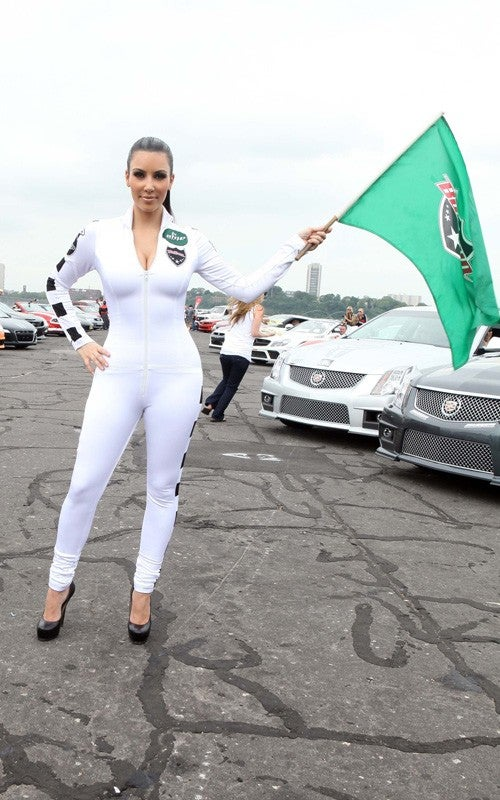 Battle Of The Bullrun Booty: Kim Kardashian Or The CTS-V Coupe?