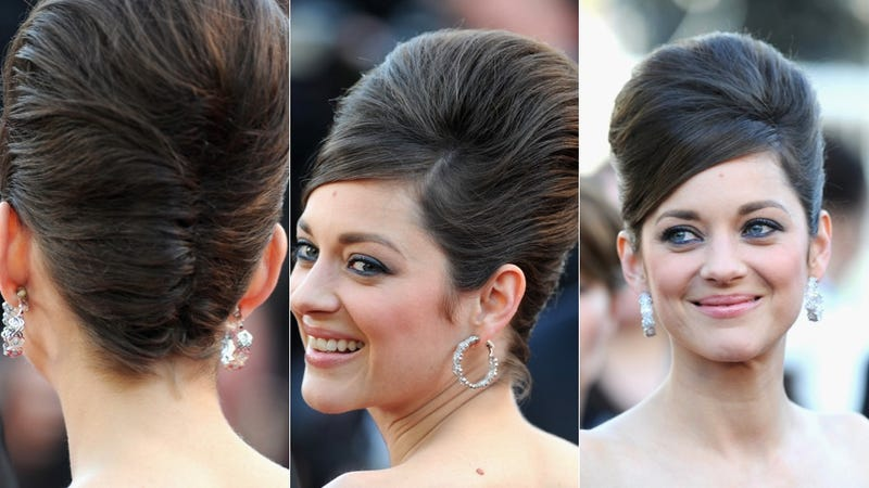 Marion Cotillard's Hair Goes All the Way Up to There