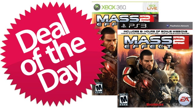Mass Effect 2 For PS3 & Xbox 360 Is Your Reaper-Slaying Deal of the Day
