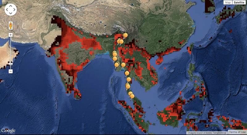These Maps Predict Where Animals of the Future Will Make ...