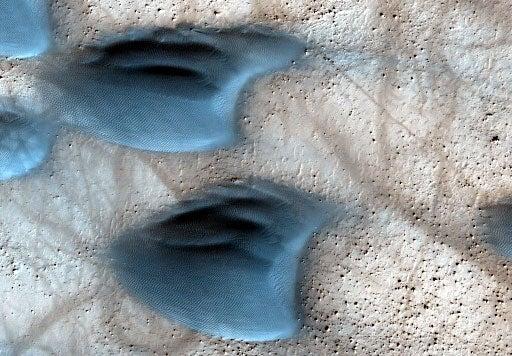 Dust Devils Of Mars
