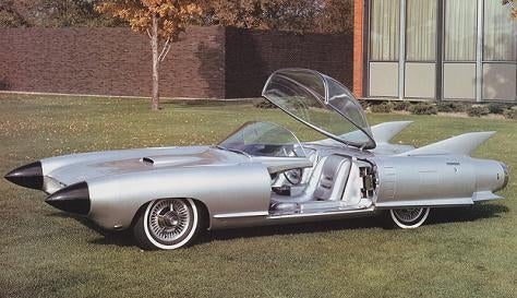 Cadillac to 1959: We Gotcha Jet Age Right Here