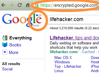 Google SSL Web Search Encrypts Your Google Searches and Suggestions by Default