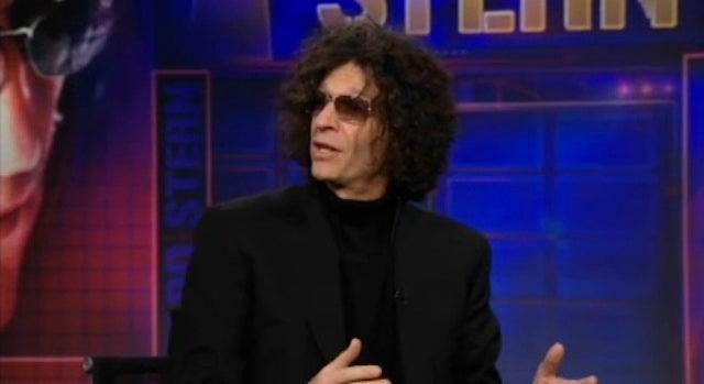 "Howard Stern and Jon Stewart Ponder ""Who's Crazier: Charlie Sheen or Glenn Beck?"""