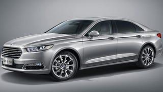 New Ford Taurus. It's a car