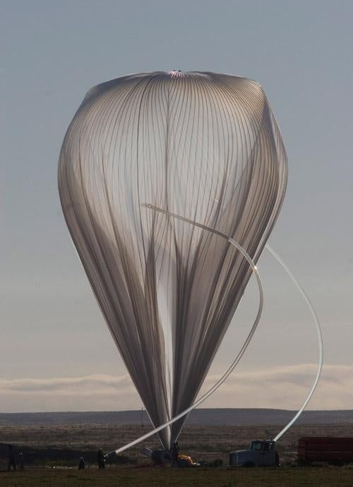 How balloons can take down satellites