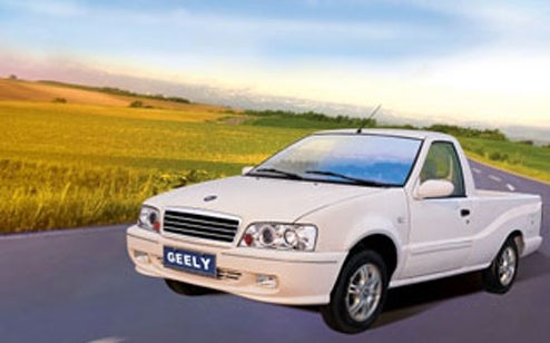 6.) Geely PU Rural Nanny