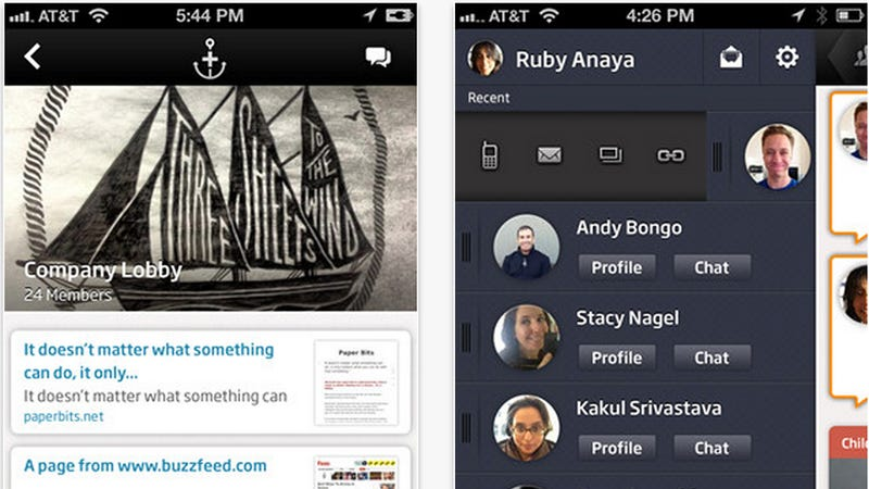 Anchor Is Sort Of Like Yammer But Pretty