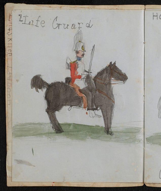 """Darwin's Kids Doodled All Over His """"Origin of Species"""" Manuscript"""