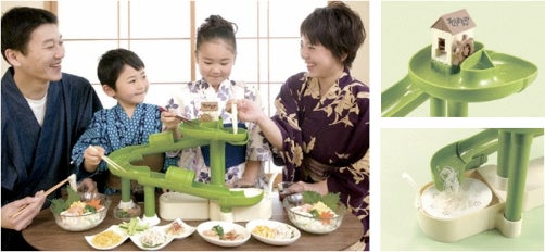 Bandai's Somen-Making Noodleslide Is the Most Fun You Could Possibly Have With Food