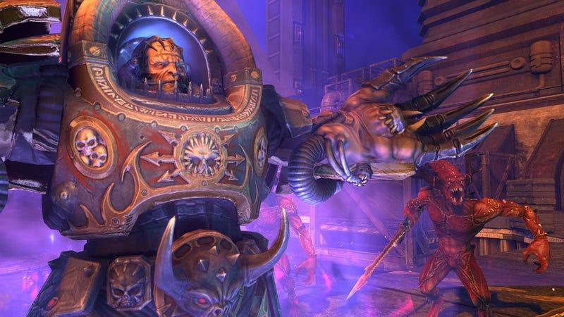 Warhammer 40,000: Space Marine Video and Screen Shots